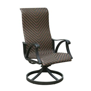 2017 Online Dalkeith Contemporary Metal Wicker Rocker Chair (Set of 2) Fleur De Lis Living