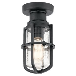 Read Reviews Pernilla 1-Light Flush Mount By 17 Stories