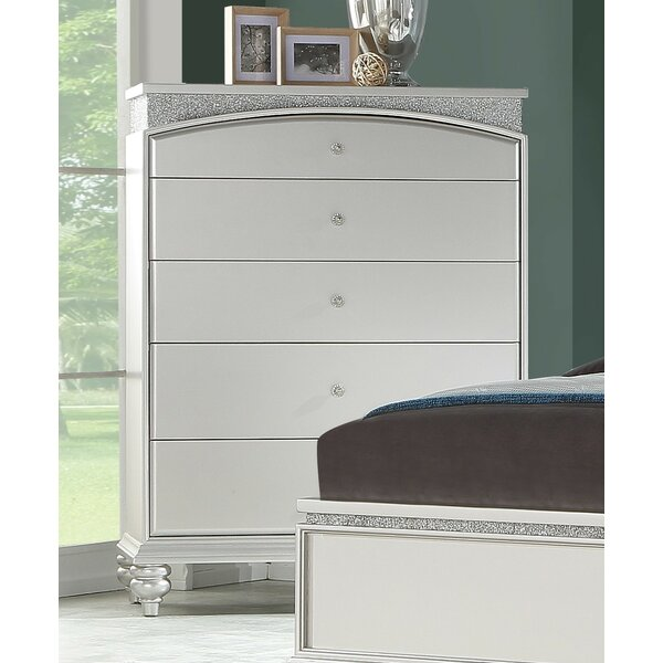 Fuson 5 Drawer Chest by House of Hampton