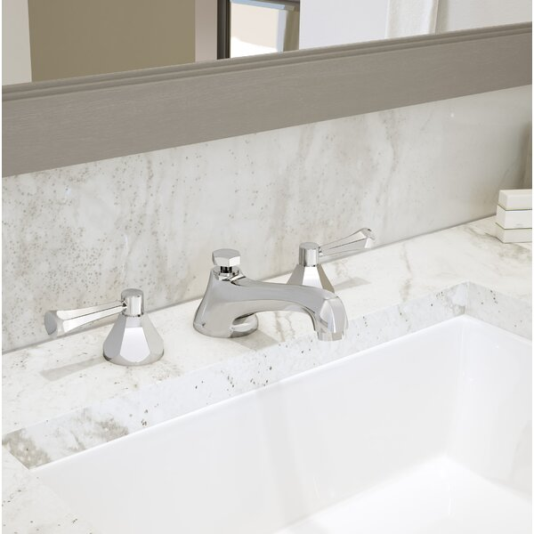 Canterbury Widespread Bathroom Faucet with Drain Assembly by Symmons