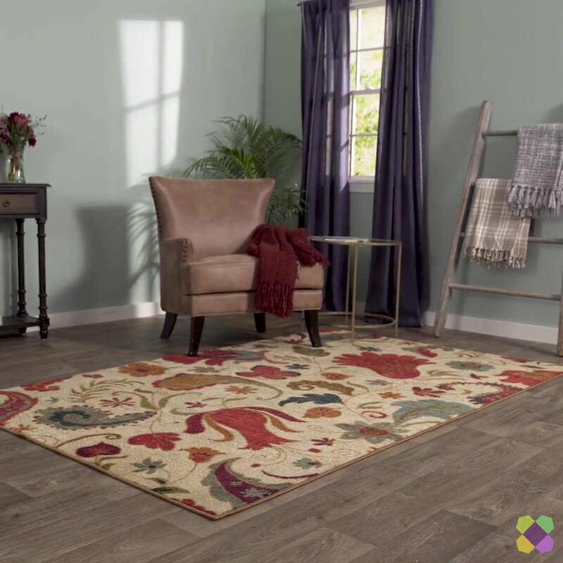 Andover Mills Virginia Beige Red Area Rug Amp Reviews Wayfair