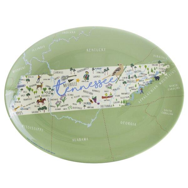 Elora Melamine Platter by Winston Porter
