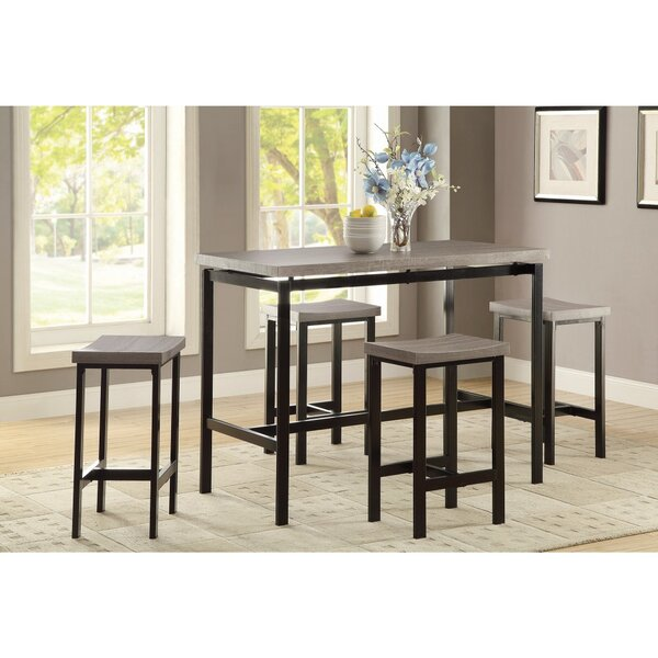 Mccreery 5 Piece Counter Height Dining Set by Williston Forge