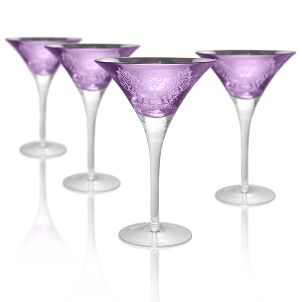 Aveline Martini 8 Oz. Glass Cocktail Glass by Willa Arlo Interiors