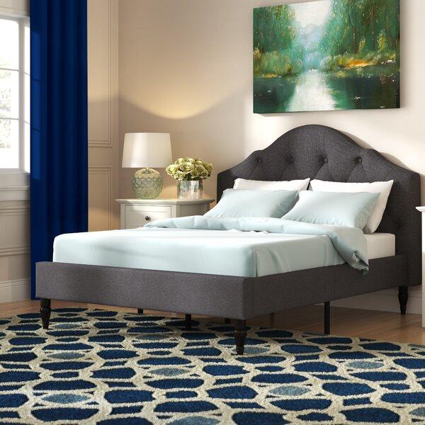 Addie Upholstered Platform Bed by Grovelane Teen