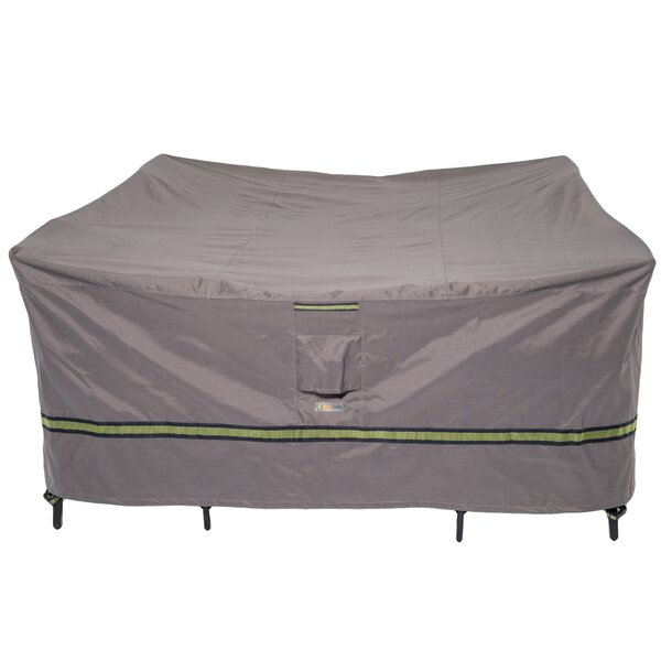 Soteria Water Resistant Patio Dining Set Cover by Duck Covers