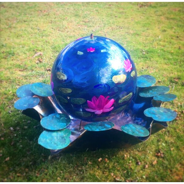 Giverny Acrylic Sphere Fountain by Harvey Gallery
