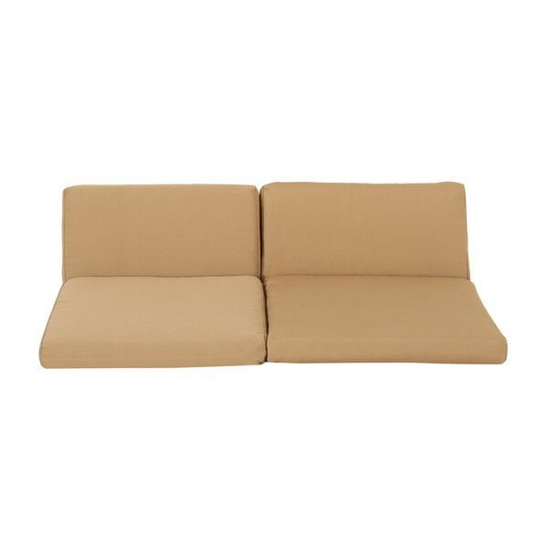 Outdoor Loveseat Cushion by Wrought Studio