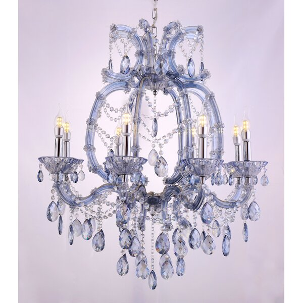 Elsa 8-Light Candle Style Chandelier by House of Hampton