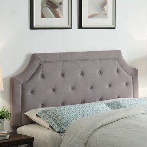Clairmont Upholstered Panel Headboard by Darby Home Co