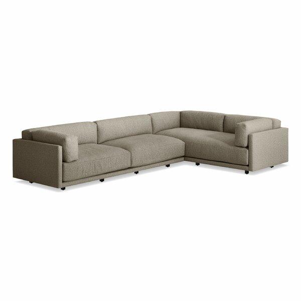 Sunday Left L Sectional Sofa by Blu Dot