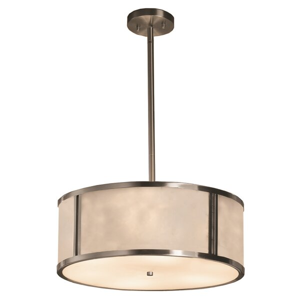 Genaro 3-Lights Drum Chandelier By Brayden Studio