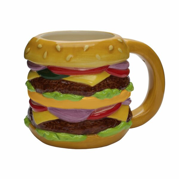 Sharmaine Cheeseburger Coffee Mug by Ivy Bronx