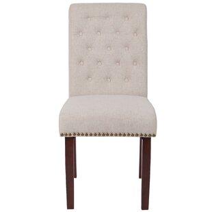 Bargain Fransen Upholstered Dining Chair by Charlton Home