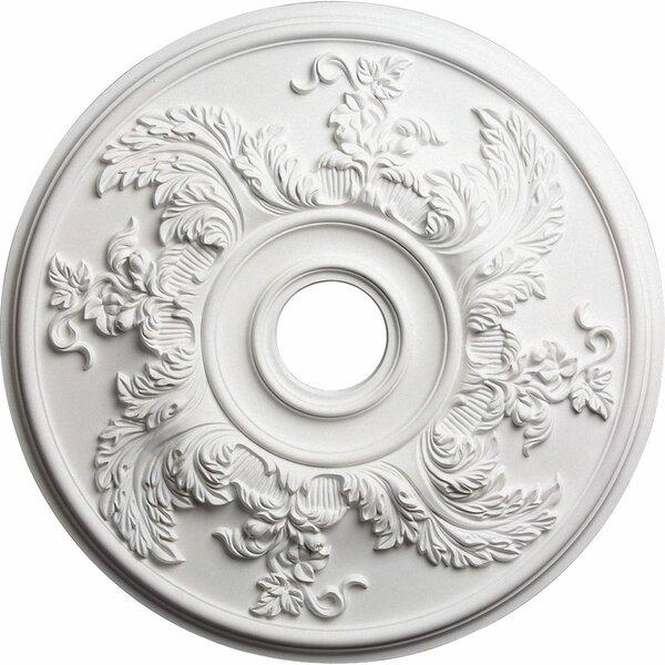 Acanthus Twist 23 5/8H x 23 5/8W x 1 7/8D Ceiling Medallion by Ekena Millwork