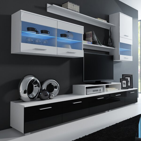 Andrea Entertainment Center For TVs Up To 43