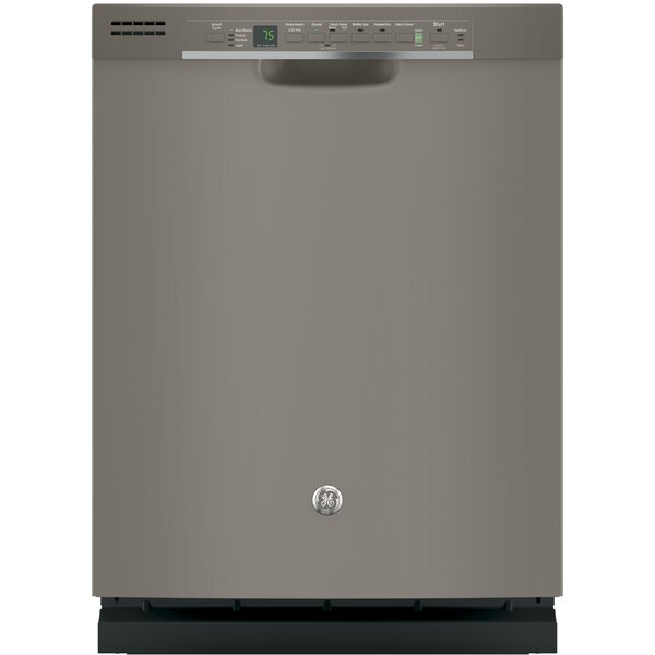 24 51 dBA Built-In Dishwasher with Front Controls by GE Appliances