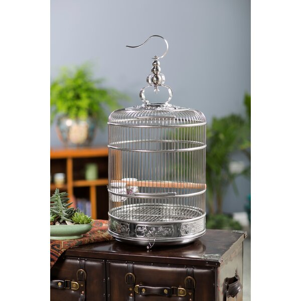 Pet Lotus 28.5 Bird Cage with Removable Tray by Prevue Hendryx