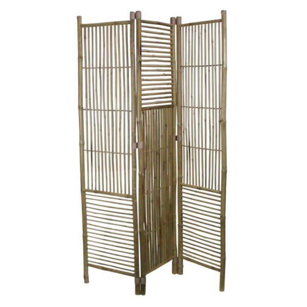 Strausbaugh 3 Panel Room Divider by Bay Isle Home