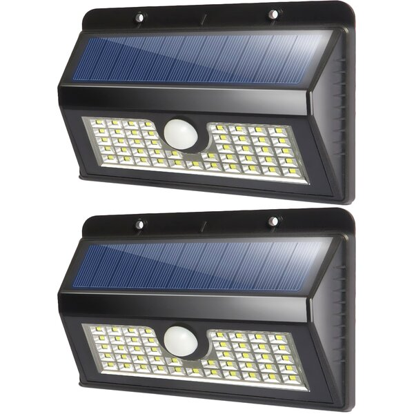 Solar Garden 45 Light LED Flood light (Set of 2) by Deluxe Comfort