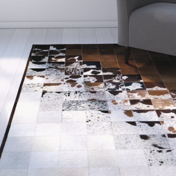 Madge Brown/Natural Area Rug by Latitude Run