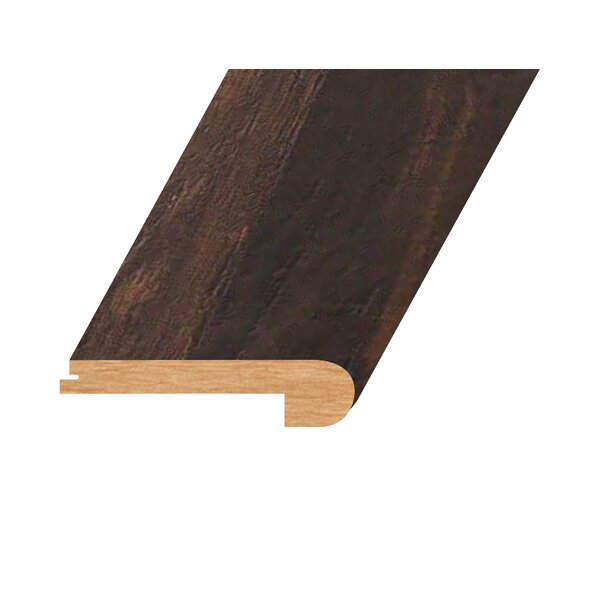 0.94 x 4.41 x 94.49 Oak Flush Stair Nose in Rustic Dark Toast by Concept One Accessories