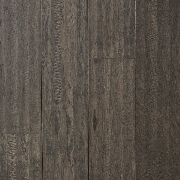 Cologne 5 Engineered Hickory Hardwood Flooring in Gray by Branton Flooring Collection