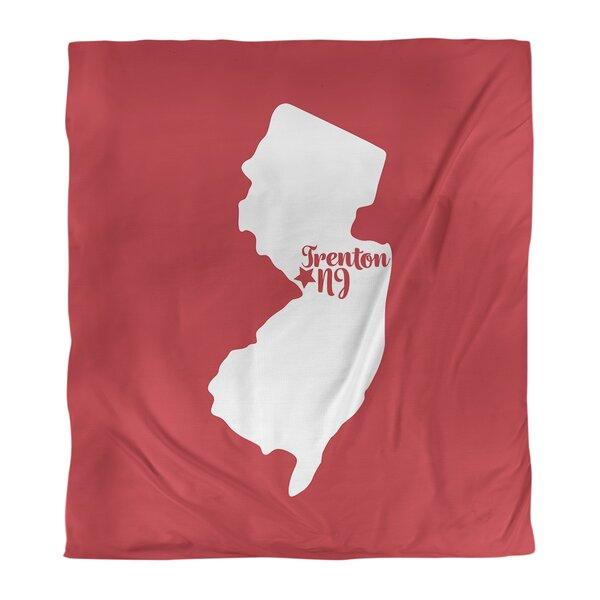 Trenton New Jersey Duvet Cover