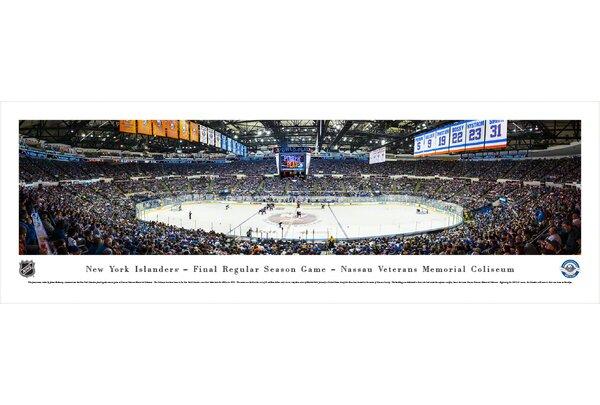 NHL New York Islanders - Center Ice by James Blakeway Photographic Print by Blakeway Worldwide Panoramas, Inc