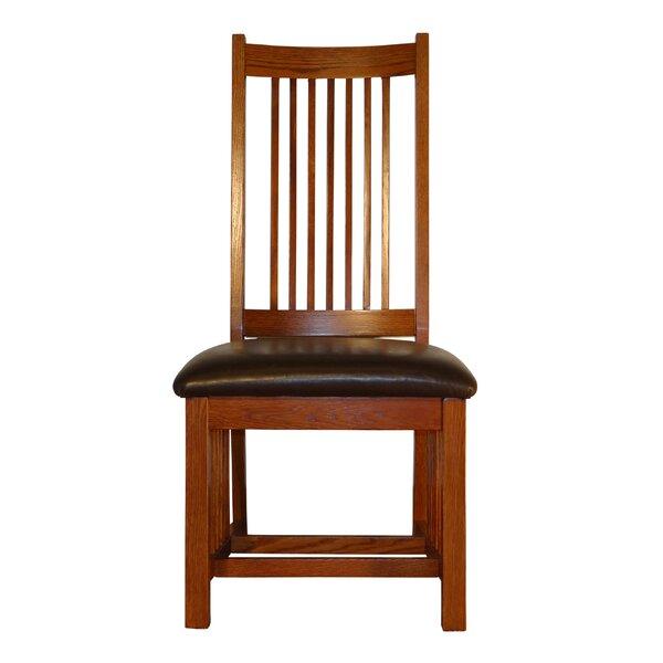Spiegel Spindle Back Mission Upholstered Dining Chair (Set Of 2) By Red Barrel Studio