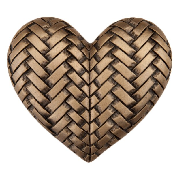 Woven Heart Novelty Knob by Acorn