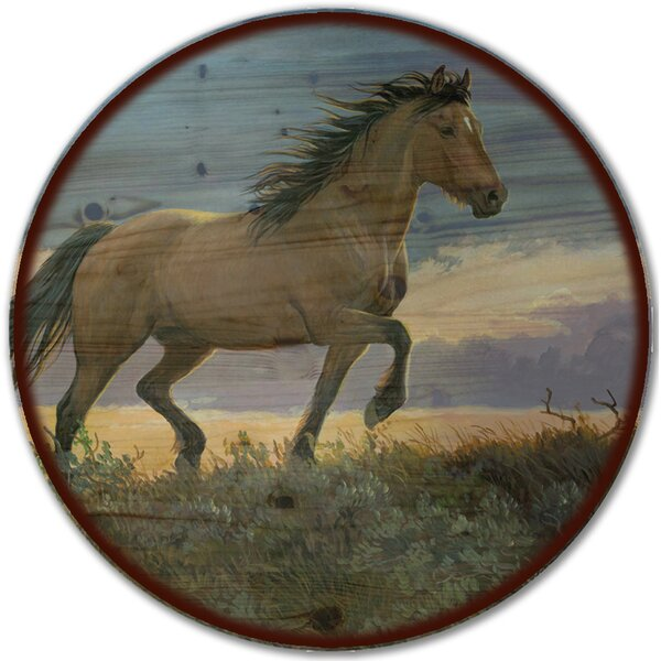 Buckskin Stallion Lazy Susan by WGI-GALLERY