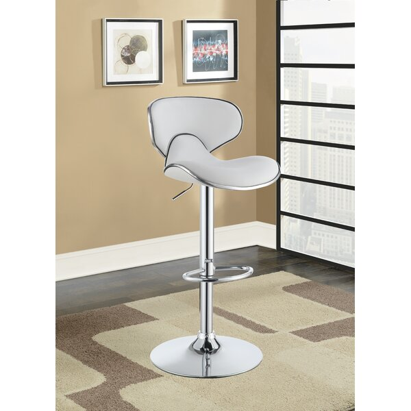 Kreider Adjustable Height Bar Stool by Orren Ellis Orren Ellis