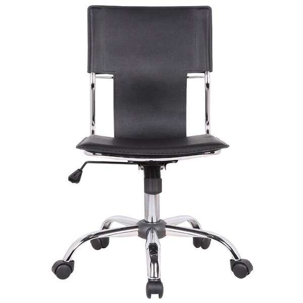 London Adjustable Mid-Back Desk Chair by Orren Ellis