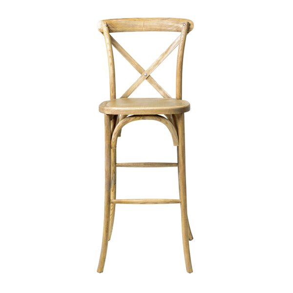 Hibbler 30 Barstool by August Grove