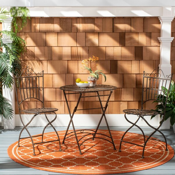 Della 3 Piece Bistro Set By Rosalind Wheeler