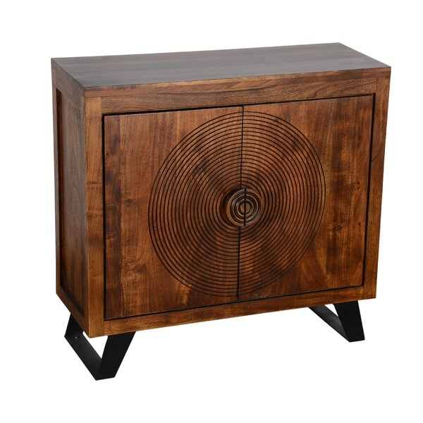 Spiral 2 Door Accent Cabinet By World Menagerie