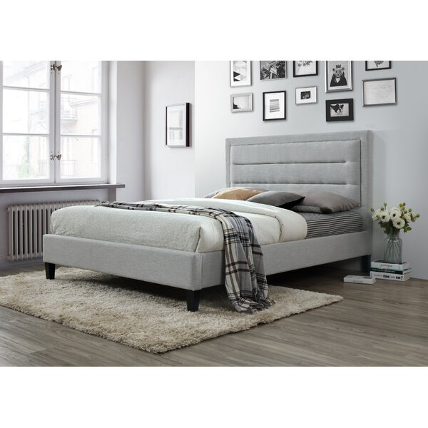 Garway Upholstered Platform Bed by Ivy Bronx
