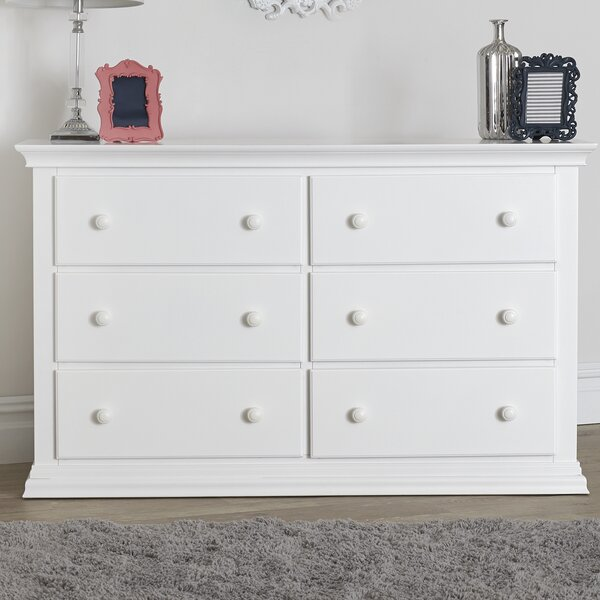 Brooklyn 6 Drawer Double Dresser by Suite Bebe