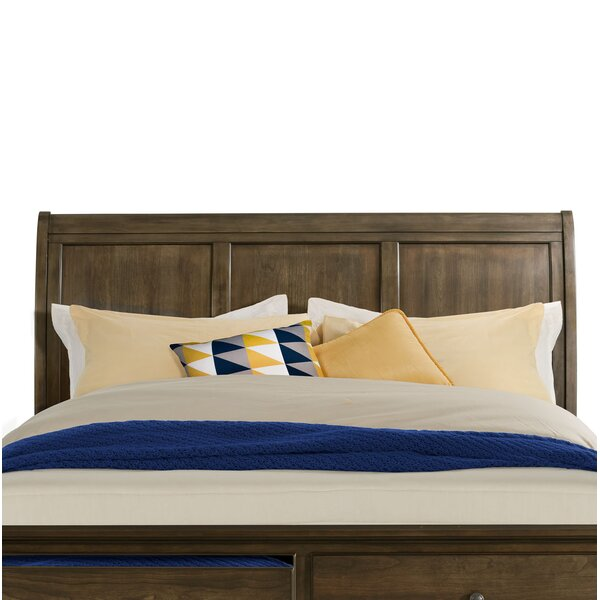 Judith Gap Sleigh Headboard by Three Posts