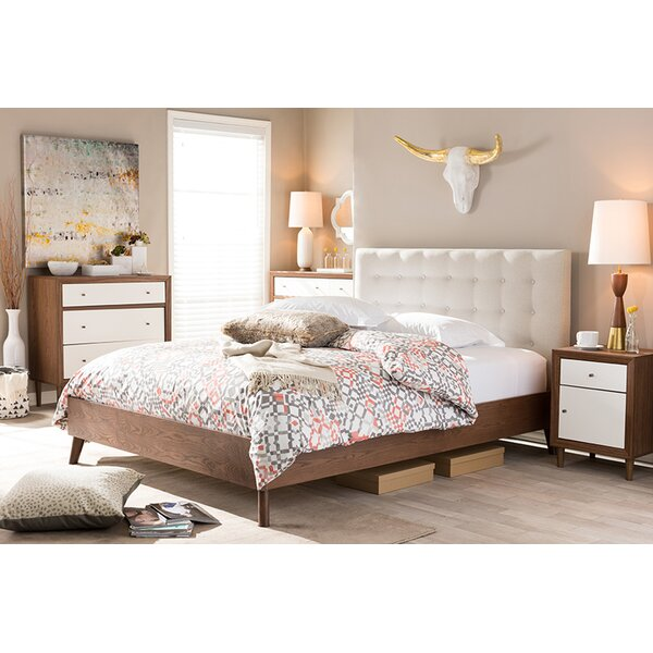 Bonilla Upholstered Platform Bed by Trule Teen