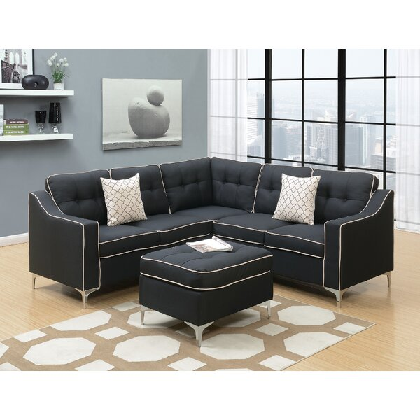 Bacher 4 Piece Living Room Set by Ivy Bronx