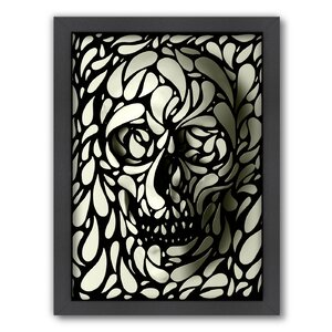 Skull 4 by Ali Gulec Framed Graphic Art by Americanflat