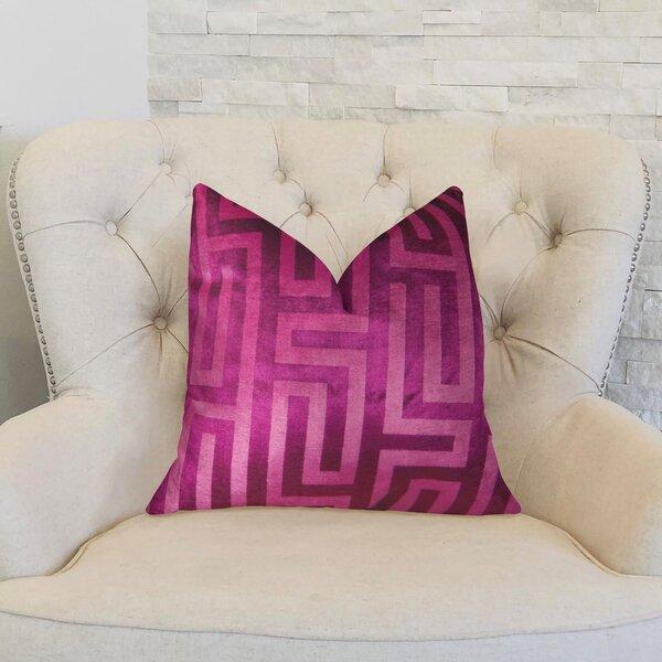 Cesire Maze Throw Pillow by Plutus Brands