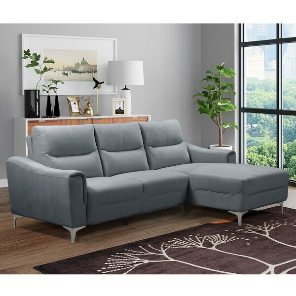 Foweler Right Hand Facing Sectional By Orren Ellis