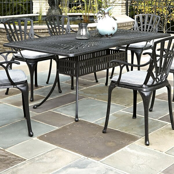 Frontenac Metal Dining Table by Astoria Grand Astoria Grand