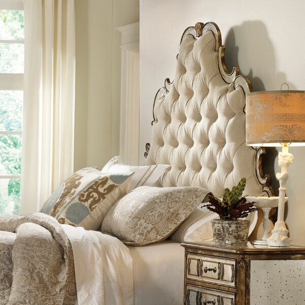 Sanctuary Upholstered Panel Headboard by Hooker Furniture