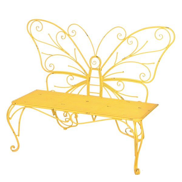 Skyla Iron Garden Bench by Zoomie Kids