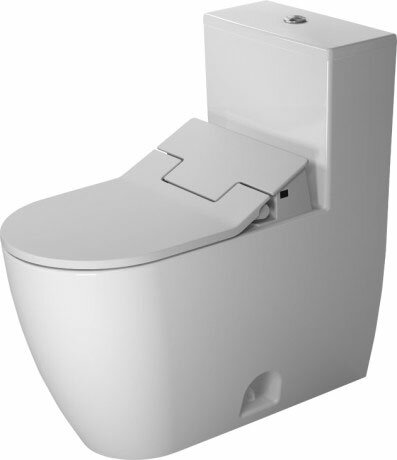 Me by Starck Elongated One-Piece Toilet (Seat Not Included) by Duravit