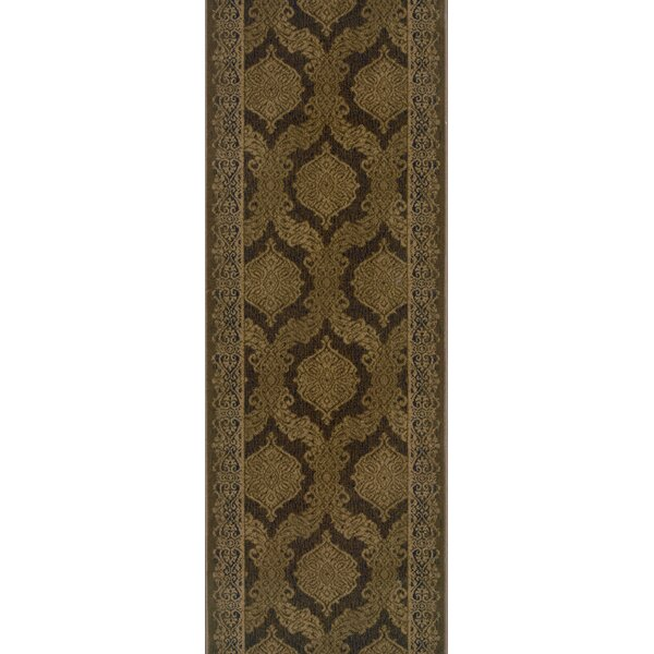 Sinnar Espresso Area Rug by Meridian Rugmakers